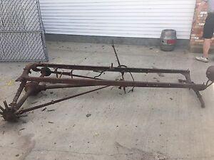 Model T frame