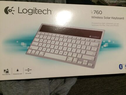 Wireless Solar Keyboard (Mac, iPad, iPhone) - Brand NEW $50 Thornlie Gosnells Area Preview