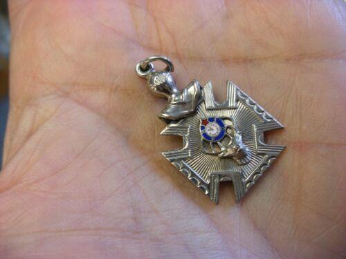 Vintage Fraternal Loyal Order of Moose Lodge Watch FOB Pendant #105