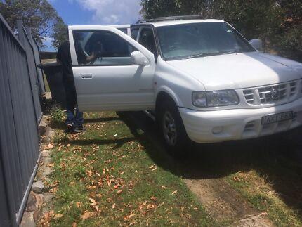 Holden frontera v6