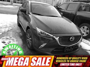 2016 Mazda CX-3 Grand Touring AWD| Sun| Nav| Heat Lth| RV Cam|