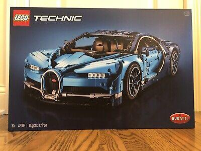 Lego 42083 - Technic Bugatti Chiron - New In Box - Sealed!