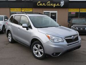 2014 Subaru Forester 2.5i Touring Package - Cam, Roof, H. Seats,