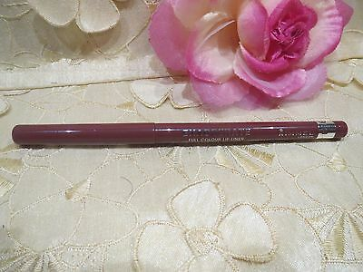 RIMMEL-EXAGGERATE-FULL COLOR-LIPLINER-020 RICH-FULL SIZE/NEW!!!