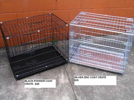 NEW Large Collapsible Metal Pet /Dog Puppy Cage Crate- METAL TRAY Coorparoo Brisbane South East Preview