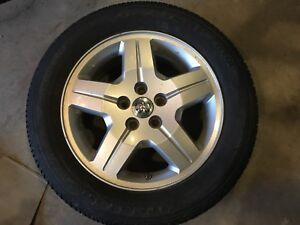 215/60r17 dodge caliber rims and tires