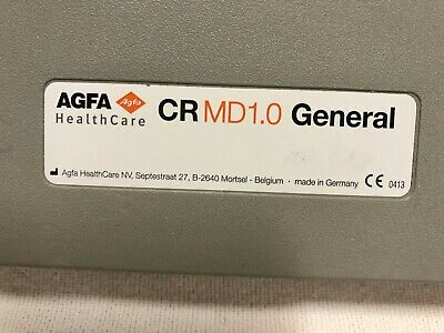 Agfa Cassette 1.0 General 14x17in With Plate Expire Date 112018