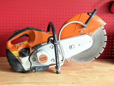 Stihl Ts420 Concrete Cut Off Saw 14 Diamond Blade W Water Kit One Owner Nice