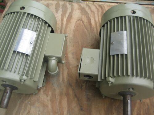 lincoln electric motor 10 horse power, 3 phase 230 v to 460 v,