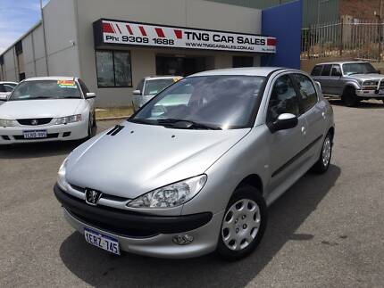 2004 Peugeot 206 Hatchback 5 doors Low 113kms Automatic Wangara Wanneroo Area Preview