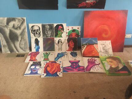 Artworks for sale!!