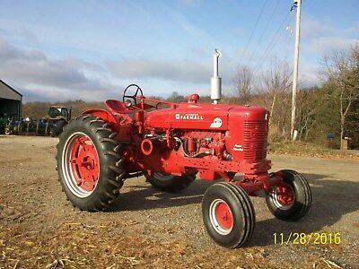 Farmall Super M TA Antique Tractor NO RESERVE deere allis oliver IH case a b c h