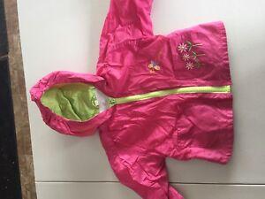 Manteau imperméable pour bb fille