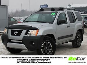 2014 Nissan Xterra PRO-4X 4X4 | HEATED LEATHER | NAV | BACK U...