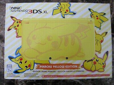 Nintendo 3DS XL Pikachu Edition 4GB Yellow Handheld System segunda mano  Embacar hacia Mexico