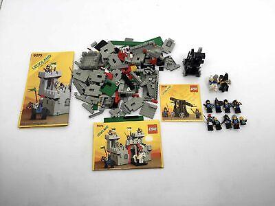 Vintage Lego 6073 6030 Legoland Castle System Knight's Castle Incomplete