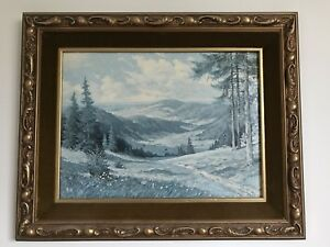 Vintage Framed Oil Paintings