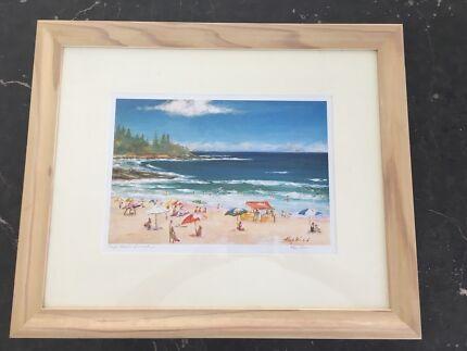Framed Kings Beach Summertime by Pam Hopkins