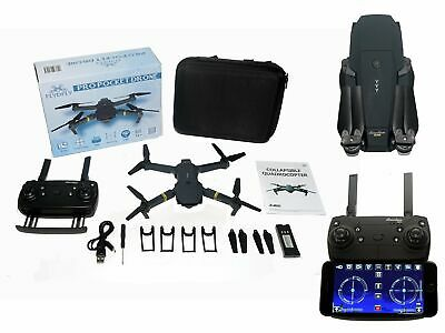 FlyDFly Drone Mini Small Foldable Pocket Quadcopter 720p X Pro E58