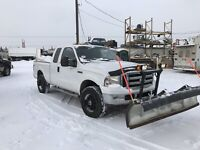 Snow plow unit f 250 4x4 great money maker  Calgary Alberta Preview
