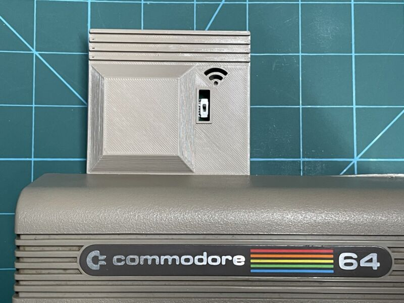 COMMODORE 64 / 128 Wifi Modem - Connect Your Commodore To BBS Sites Wirelessly!