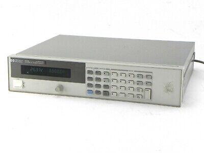 Agilent Hp Keysight 6634b 100 Watt System Power Supply 100v 1a