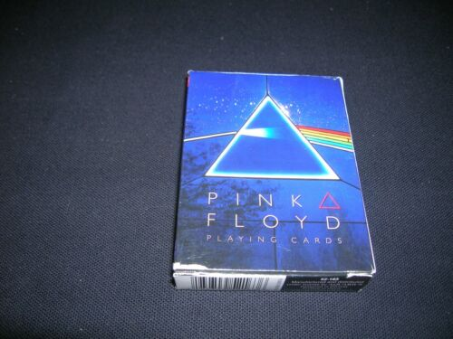 NEVER USED DECK OF PINK FLOYD DARK SIDE OF THE MOON PLAYING CARDS, GREAT GIFT!