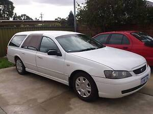 2005 Ford Falcon Wagon with bed n camping stuff Perth Region Preview