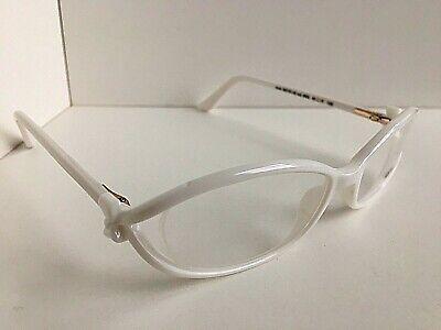 New MOSCHINO  MO 101-02 W03 51mm White Women's Eyeglasses Frame Italy
