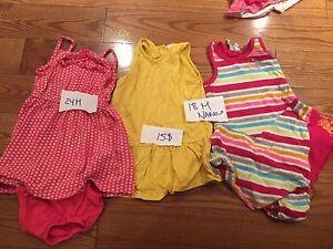 Vêtements été bébé fille 18 mois