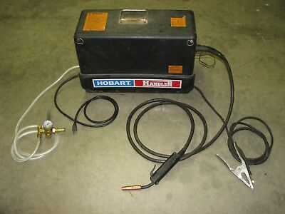 Hobart Handler Weld Welder Portable Steel Mig Welding Machine 115 Volt Ac 1phase