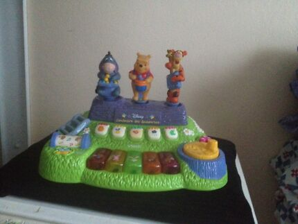 Winnie the pooh musical toy