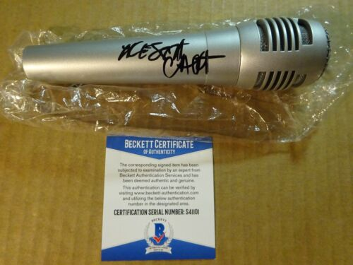 Signed ALESSIA CARA Autographed Microphone Singer & Songwriter BECKETT COA