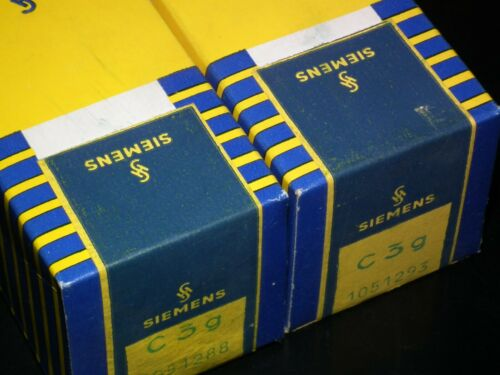 Two C3g Siemens NOS NIB Unpacked The same batch - close code numbers