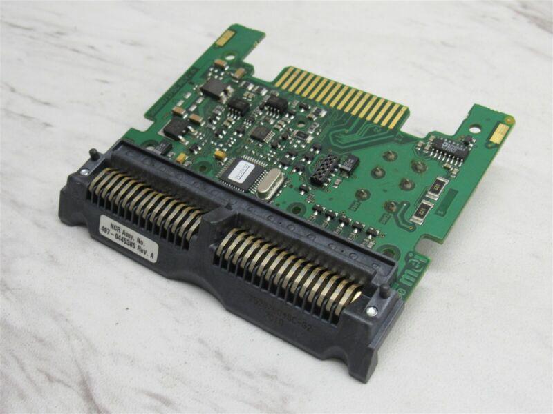 NCR / MEI CashFlow Bill Validator Interface Card RS232 497-0445385 EBDS 2 Switch