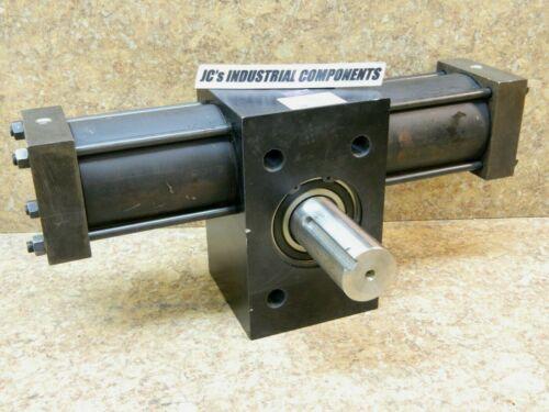 Parker  LTR321-1053-AB23-CS   hydraulic  rotary actuator    105 deg  1000 psi