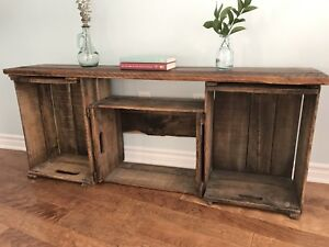 Rustic TV Stand / Media Unit  (Can deliver)