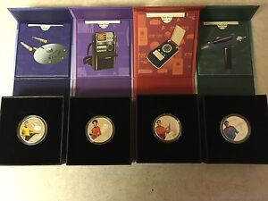 Star Trek Character Silver Coins