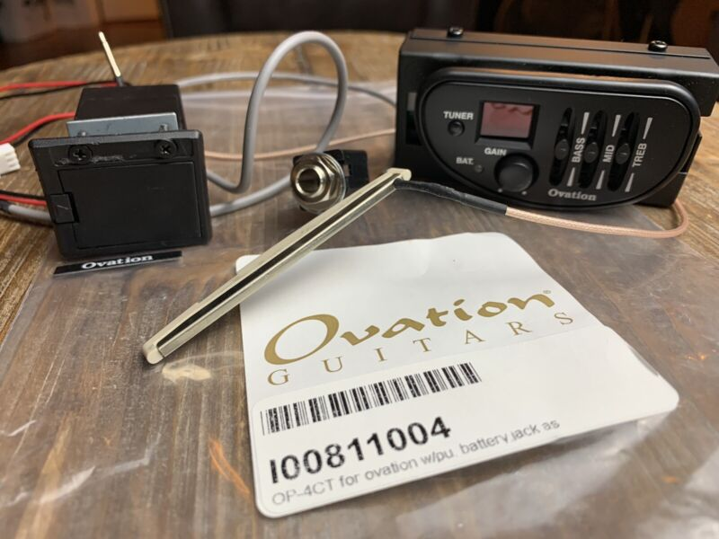 ovation guitar Preamp OP-4CT Kit