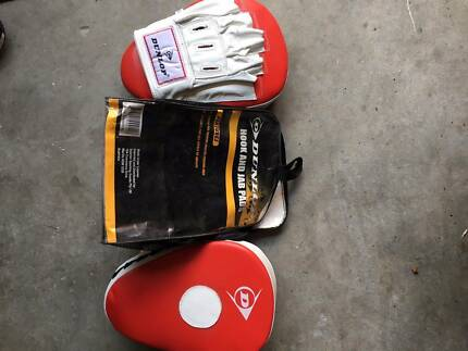 Dunlop Hook and Jab Pads w/ Carry Bag