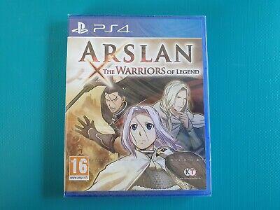 PS4 : Arslan - The Warriors of Legend (neuf sous blister)