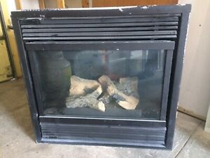 Gas fireplace by Majestic--can be wall or corner.