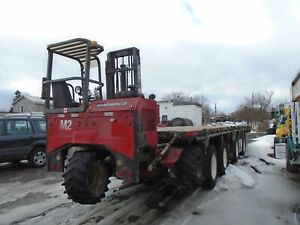 2007 Freightliner Columbia 120 Tractor,48ft trailer and Forklift