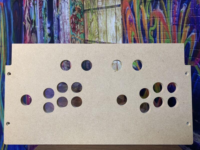 arcade1up control panel