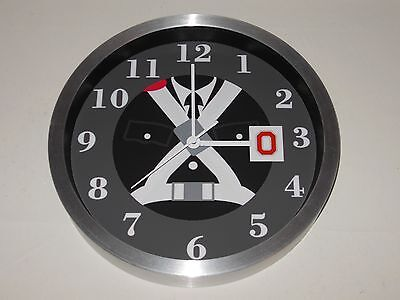 Ohio State University Marching Band 10 Inch Premium Metal Wall Clock - Ohio State University Wall Clock