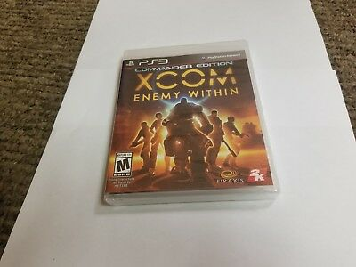 XCOM: Enemy Within -- Commander Edition (Sony PlayStation 3, 2013) ps3 new segunda mano  Embacar hacia Argentina
