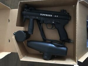 Tippmann A-5 paintball