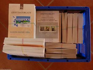 Bund Berlin ETB Ersttagsblätter Sammlung ca. 400 Stück verschiedene Jahrgänge