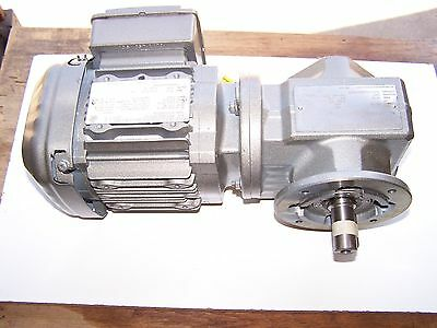 Sew Eurodrive Right Angle Gearmotor 28.761 Ratio 230460v 3 Phase New