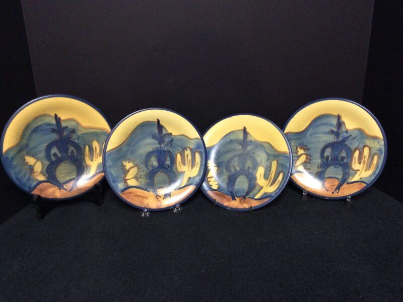 """Four(4) Vintage Stangl Ranger 7 3/16""""Plates"""